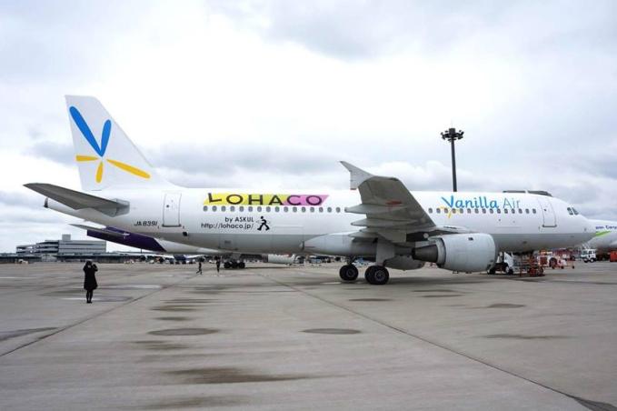 Vanilla Air A320-200 JA8391 (13-LOHACO)(Grd-1)(Vanilla Air)(LR)