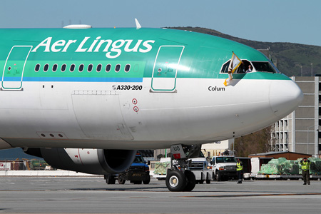 Aer Lingus A330-200 EI-DUO (96)(Nose) SFO (MDB)(LRW)