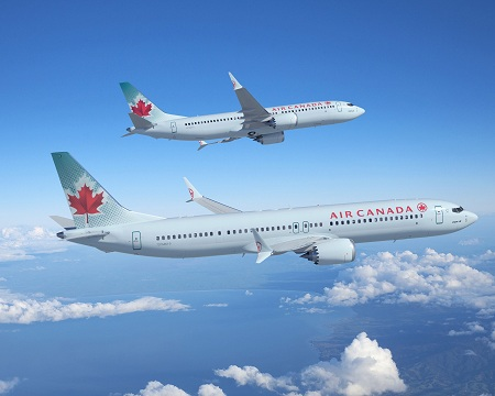 Air Canada 737-8 & -9 MAX Artwork