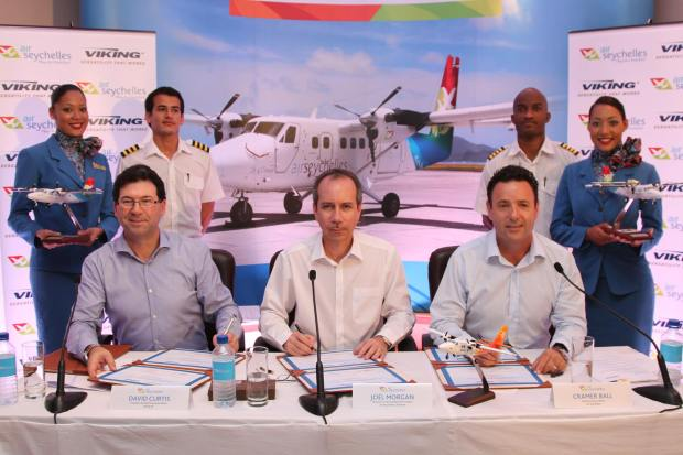 Air Seychelles-Viking Air Press Conference (Air Seychelles)(LR)