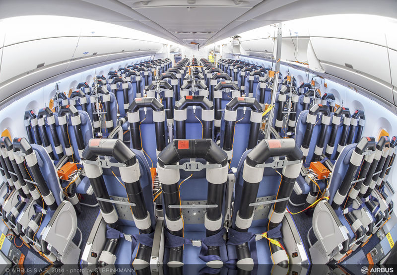 Airbus Tests And Unveils A350 Cabin Concepts World