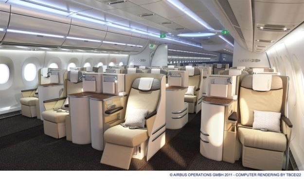 Airbus A350 Business Class Cabin (Airbus)(LR)