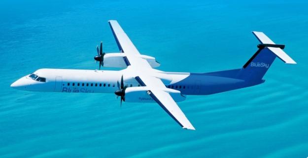 BlueSky DHC-8-400 (BlueSky)(LR)