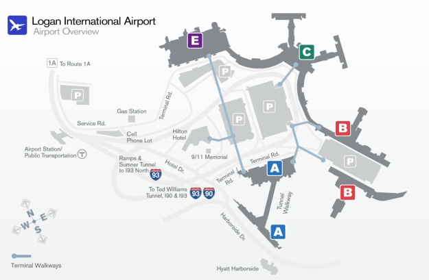 BOS Terminal Map 4.2014 (Massport)