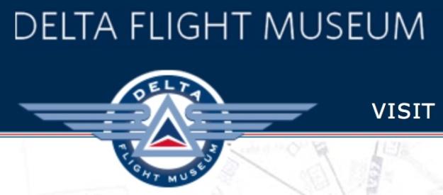 Delta Flight Museum logo