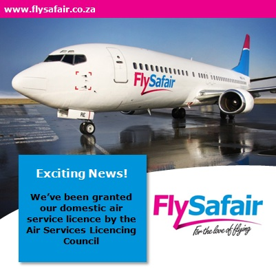 FlySafair Cleared to Fly