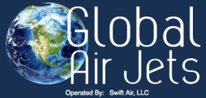 Global Air Jets logo
