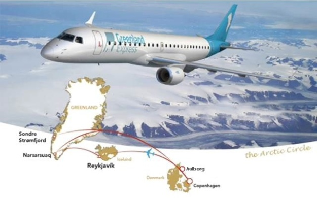 Greenland Express 4.2014 Route Map