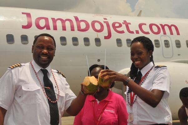 Jambojet first flight (Jambojet)(LR)