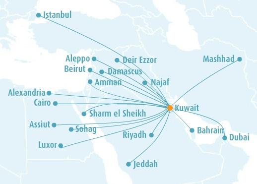 Jazeera 4.2014 Route Map