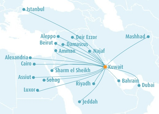 Jazeera 4.2014 Route Map