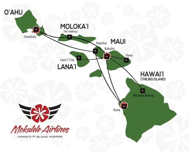 Mokulele 4.2014 Route Map