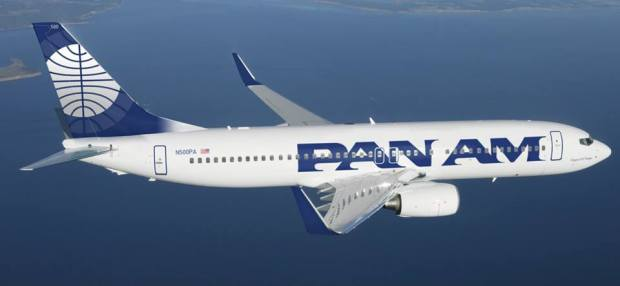 Pan Am (4th) 737-800 WL (Pan Am)(LR)