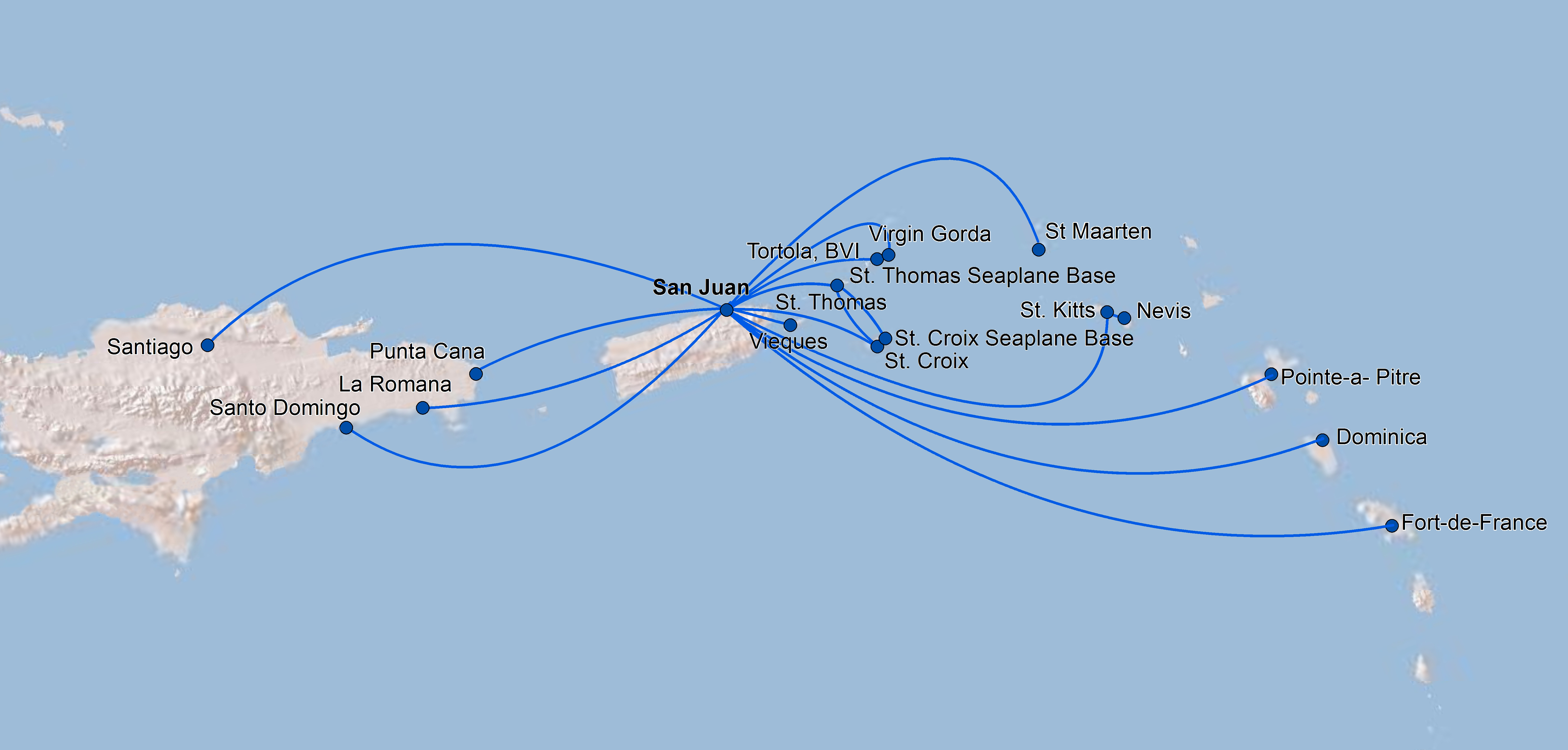 Seaborne Airlines World Airline News - Us airways europe route map