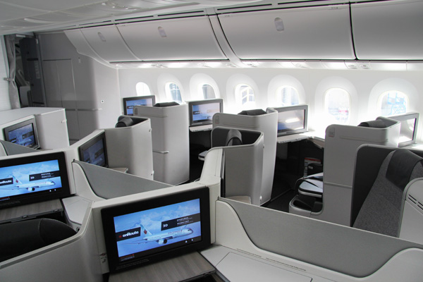 Air Canada 787 International Business Cabin 1 (Air Canada)(LRW)
