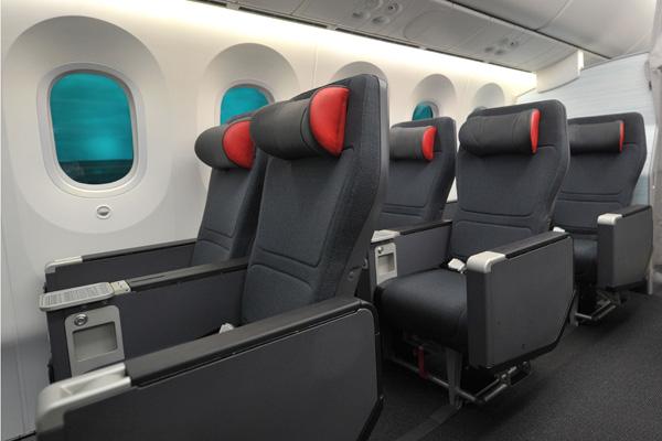 Air Canada 787 Premium Economy cabin (Air Canada)(LRW)