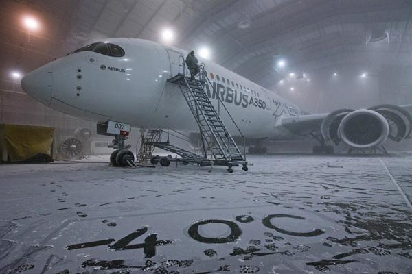 Airbus A350-900 F-WWCF (McKinley Cimatic Chamber)(Eglin AFB)(Airbus)(LRW)