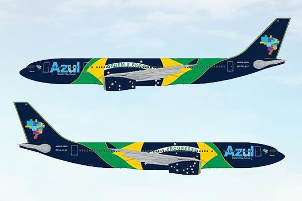 Azul A330-200 (Azul)(LR)
