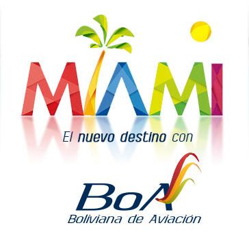 BoA Miami poster