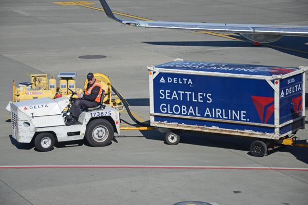 Delta Seattle's Global Airline SEA (BD)(LRW)