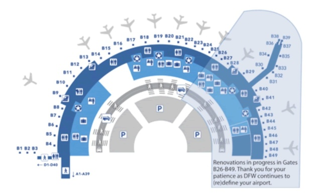 DFW Terminal B American Eagle