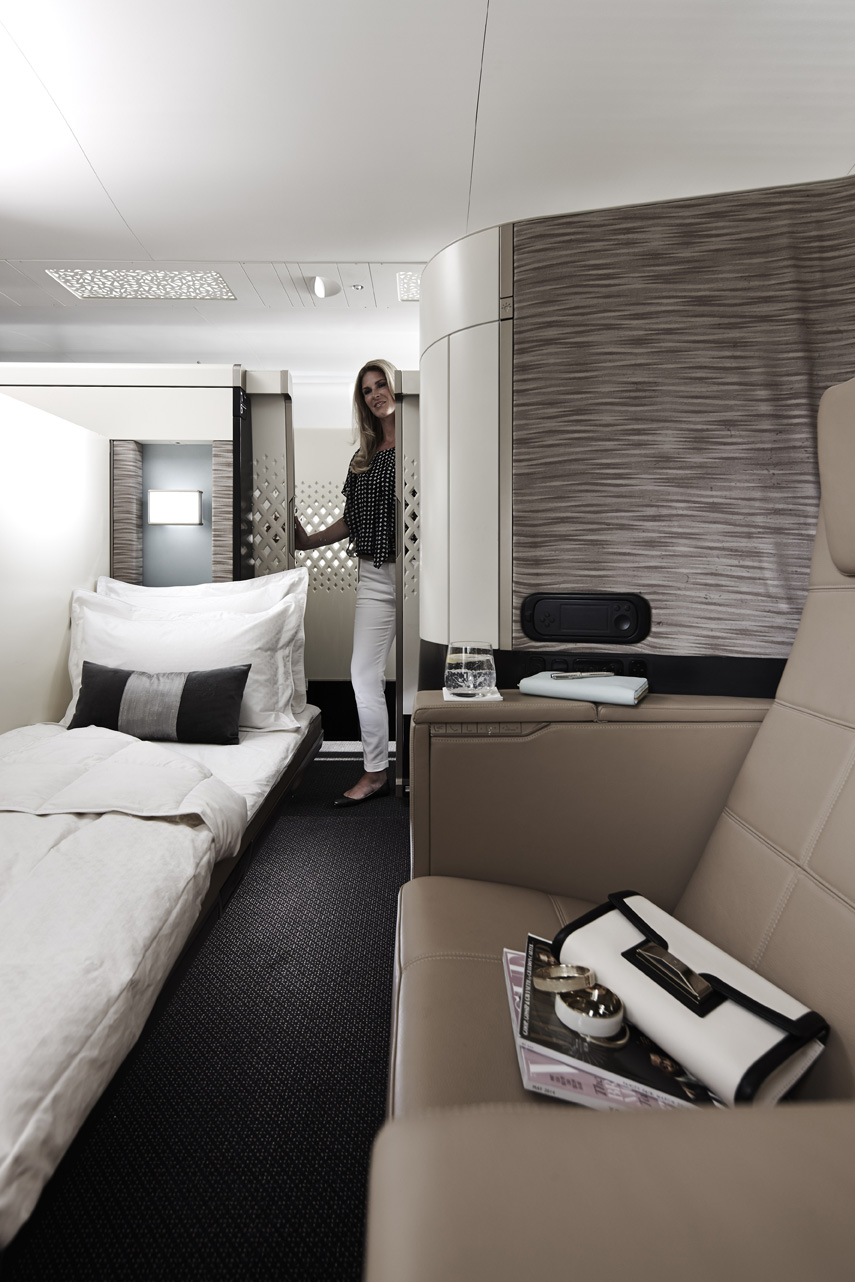 Etihad airways unveils the interiors of its new airbus a380s and boeing 787s world airline news - Amenager lounge m ...