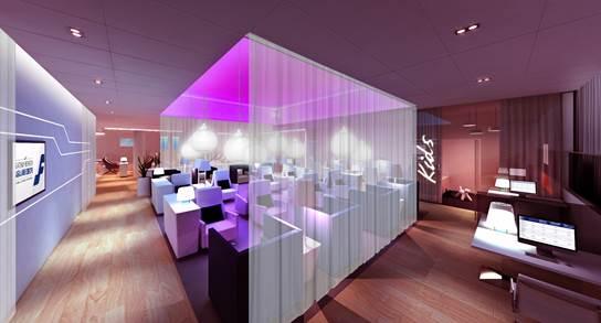 Finnair HEL Lounge