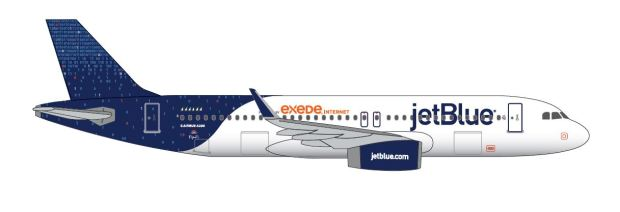 JetBlue A320-200 Drawing Binary Code (JetBlue)(LR)