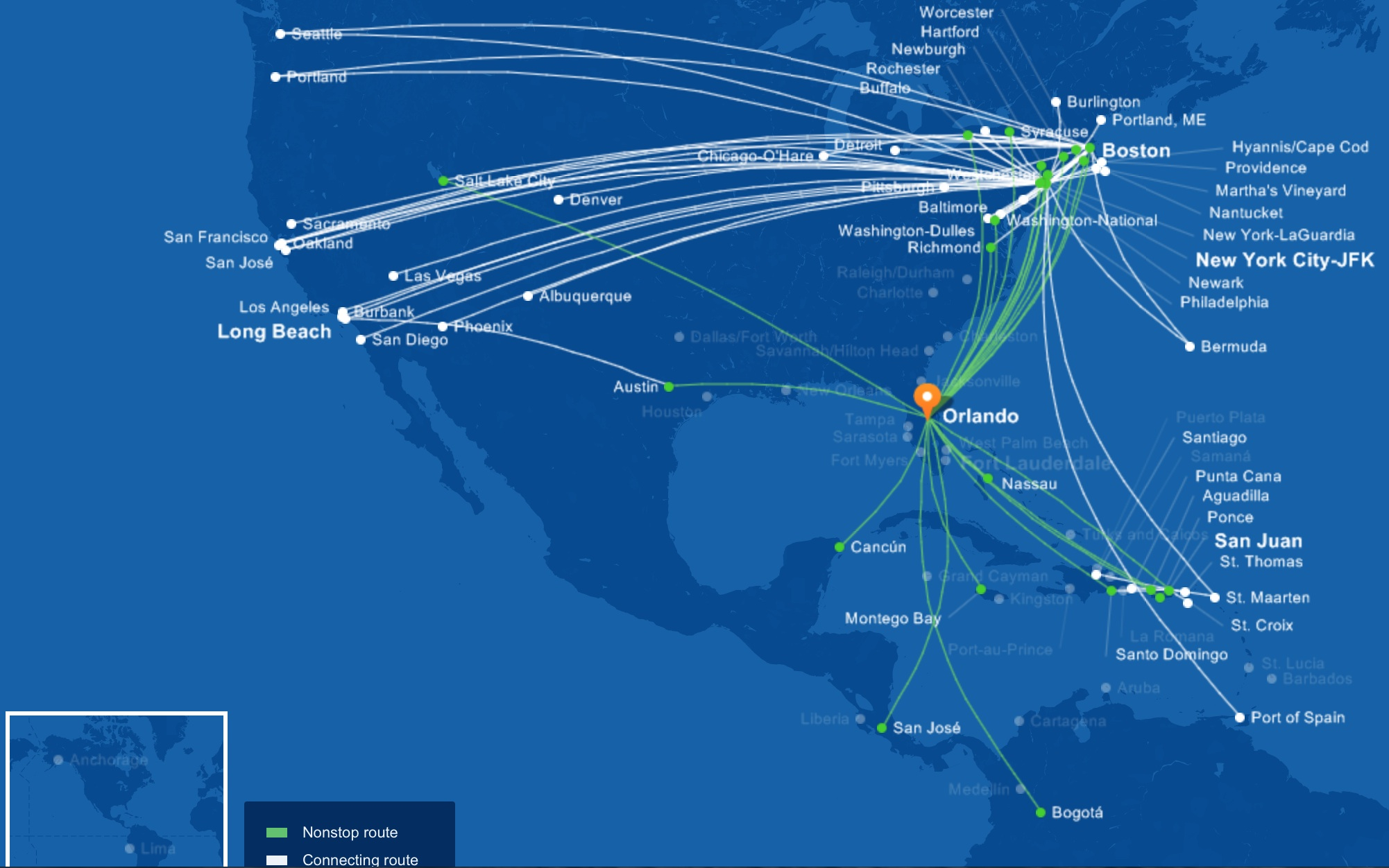 JetBlue to launch Salt Lake CityOrlando flights on November 12