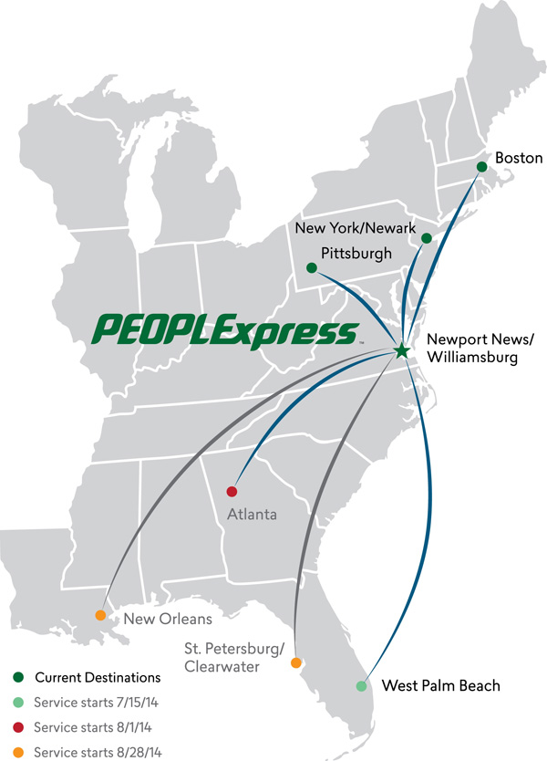 PEOPLExpress (2nd) 5.2014 Route Map (LRW)