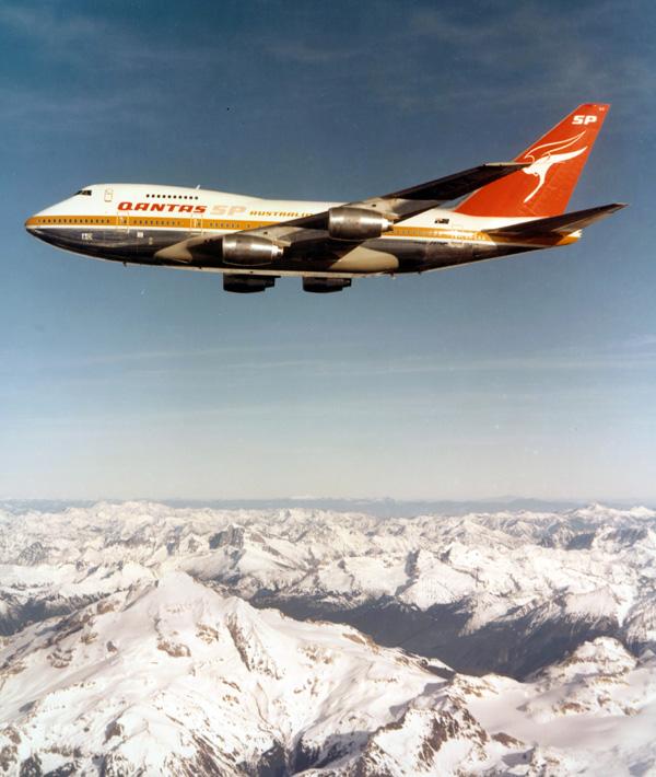 QANTAS 747SP VH-EAA (70)(Flt)(QANTAS)(LRW)