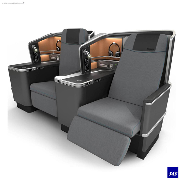 Scandinavian-SAS Business Class seat (SAS)(LRW)