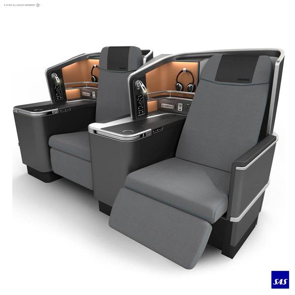 Scandinavian-SAS Business Class seat (SAS)(LRW)