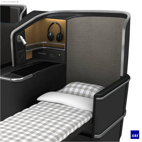 Scandinavian-SAS Business Class Sleeper (SAS)(LRW)