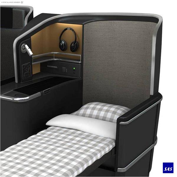 Scandinavian-SAS Business Class Sleeper (SAS)(LRW)