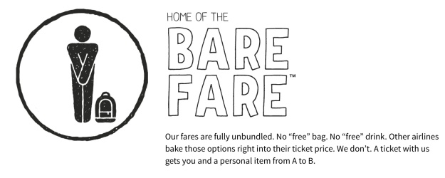 Spirit Bare Fare logo