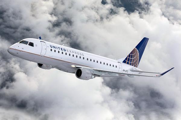 United Express ERJ 175 PR-EFC (CO 91)(Flt)(Embraer-United)(LRW)