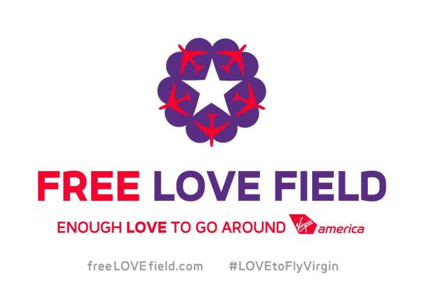Virgin America Free Love Field