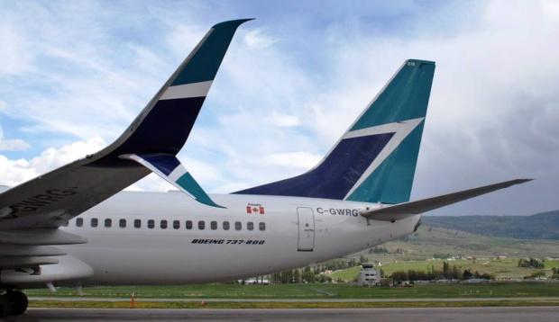 WestJet 737-800 SSWL C-GWRG (95)(Tail)(WestJet)(LR)