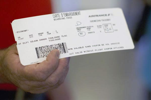 Airbus A350 passenger ticket (Airbus)(LRW)