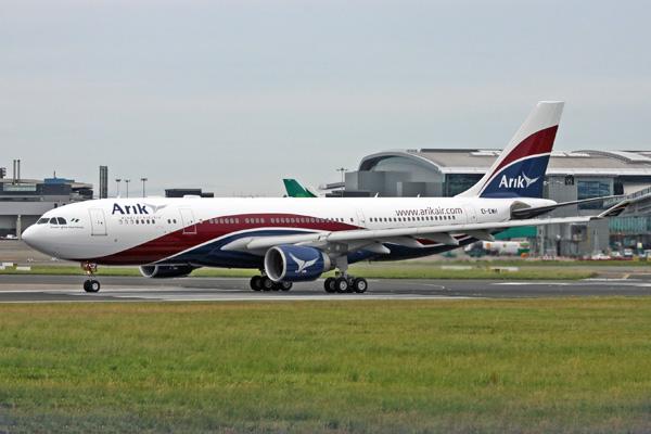 Arik Wings-arikair.com A330-200 EI-EWH (5N-JIC)(06)(Grd) DUB (MNS)(LRW)
