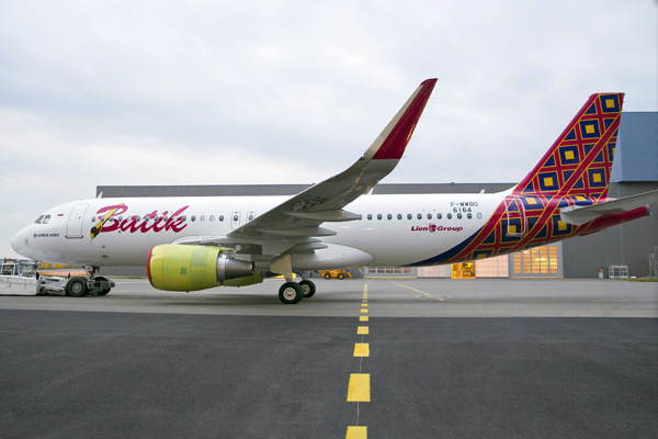 Batik Air A320-200 WL F-WWBO (PK-LAF)(13)(Grd) TLS (Airbus)(LRW)
