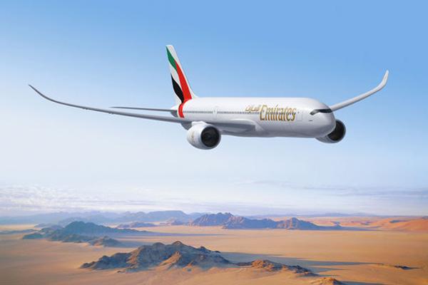 Emirates A350 (Airbus)(LRW)