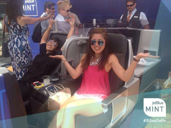 JetBlue Mint Selfie (JetBlue)(LRW)