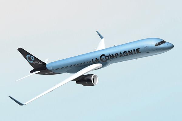 La Compagnie 757-200 (14)(Flt)(LRW)