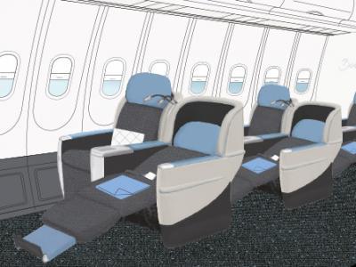 La Compagnie seat (LR)
