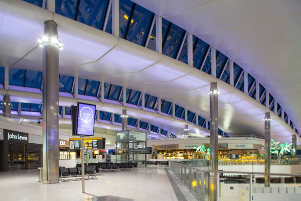 Terminal 2 Opens As The Star Alliance Terminal At London