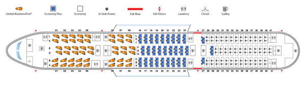 United 787-9 Seating Plan (LRW)