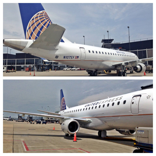 United Express ERJ 175s (United)(LRW)