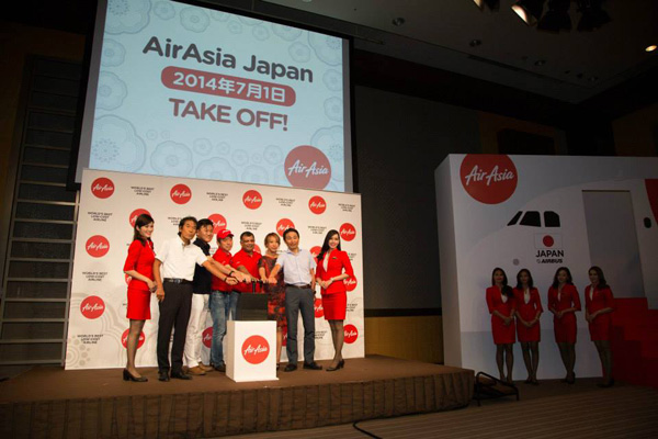AirAsia Japan (2nd) Take Off (LRW)